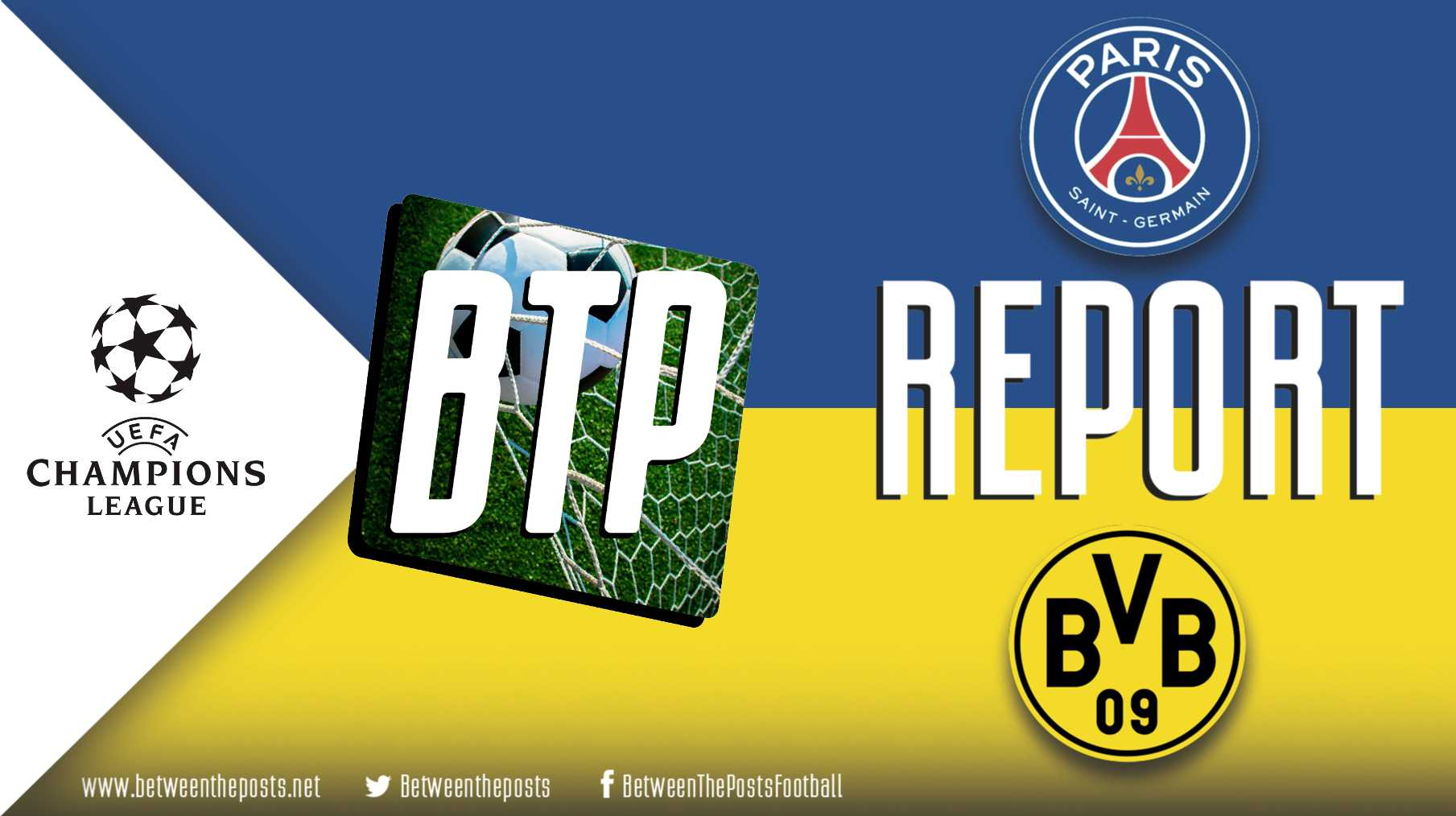 Tactical analysis Paris Saint-Germain Borussia Dortmund 2-0 Champions League