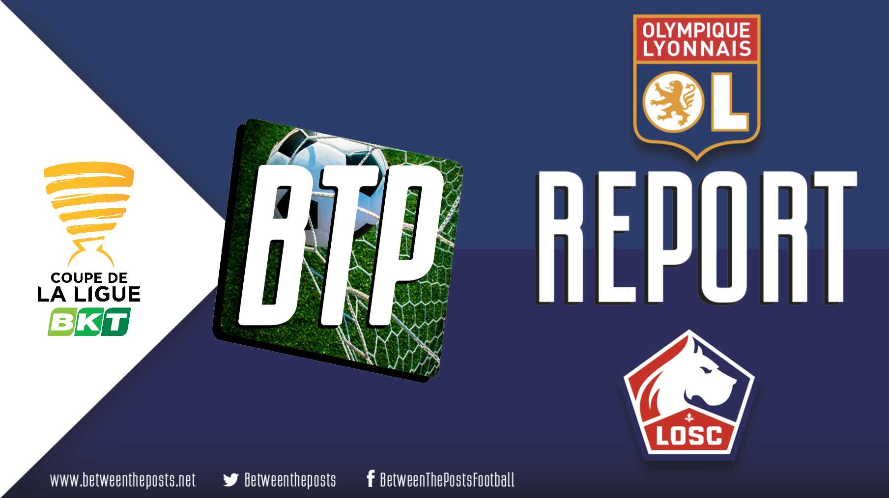Tactical analysis Olympique Lyonnais Lille OSC 2-2 Coupe de la Ligue