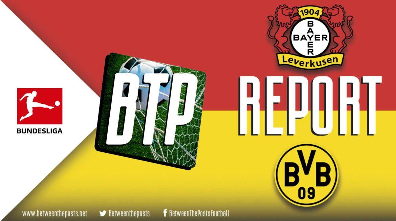 Bayer Leverkusen – Borussia Dortmund: Shooting Woes Sink Dortmund As Wirtz Steals The Winner (2-1)