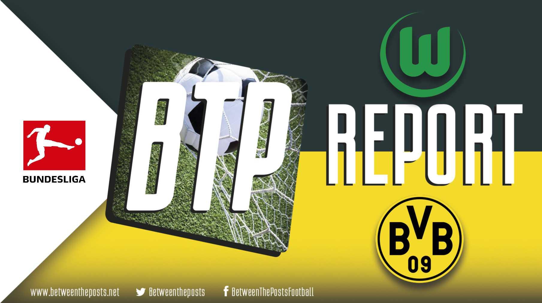 Tactical analysis Wolfsburg - BVB Dortmund 0-1