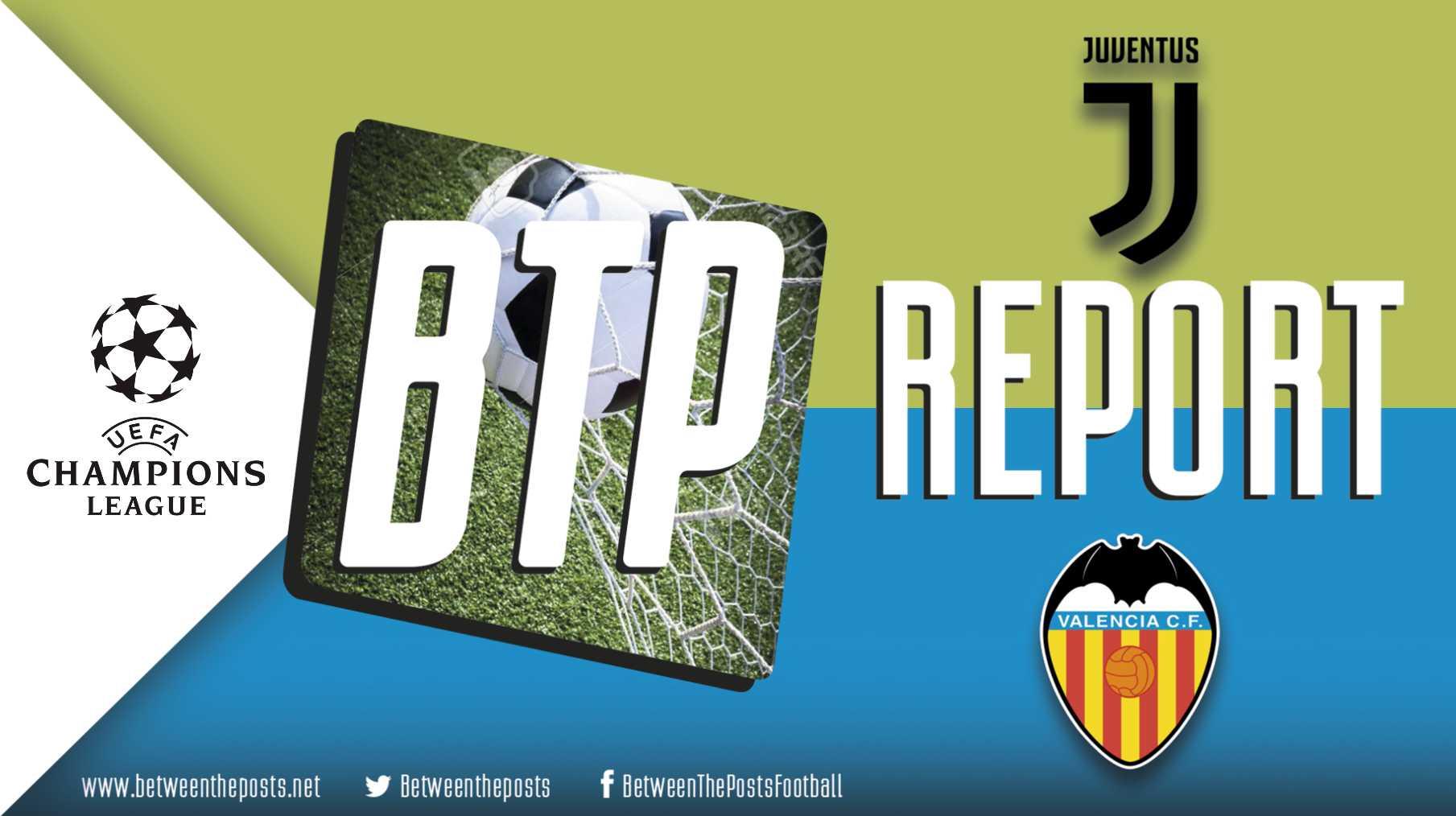 Tactical analysis Juventus Valencia 1-0