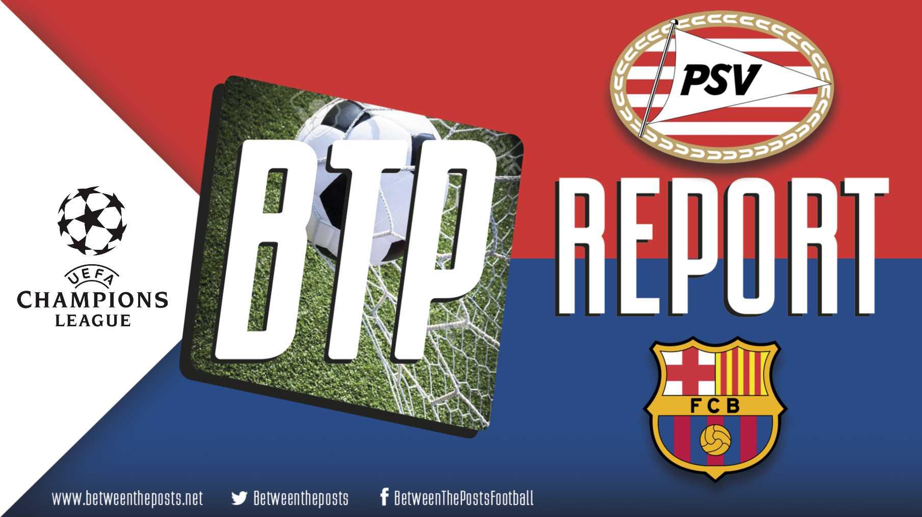 PSV Barcelona tactics