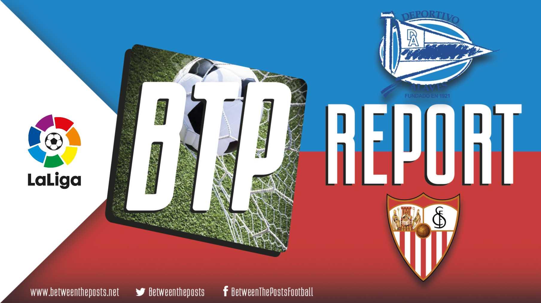 Sevilla Alavés tactics