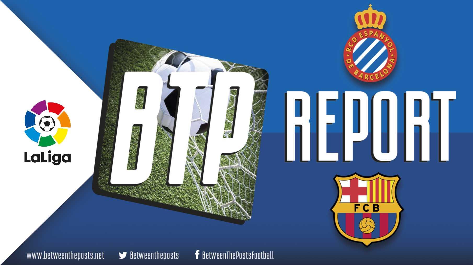 Tactical analysis Espanyol - Barcelona 0-4 La Liga
