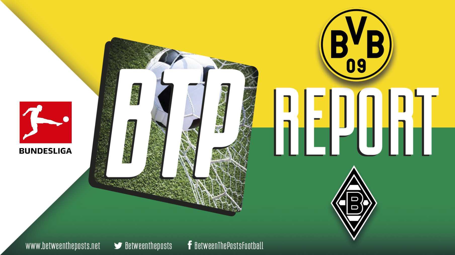 Tactical analysis Dortmund - Borussia Mönchengladbach 2-1 Bundesliga