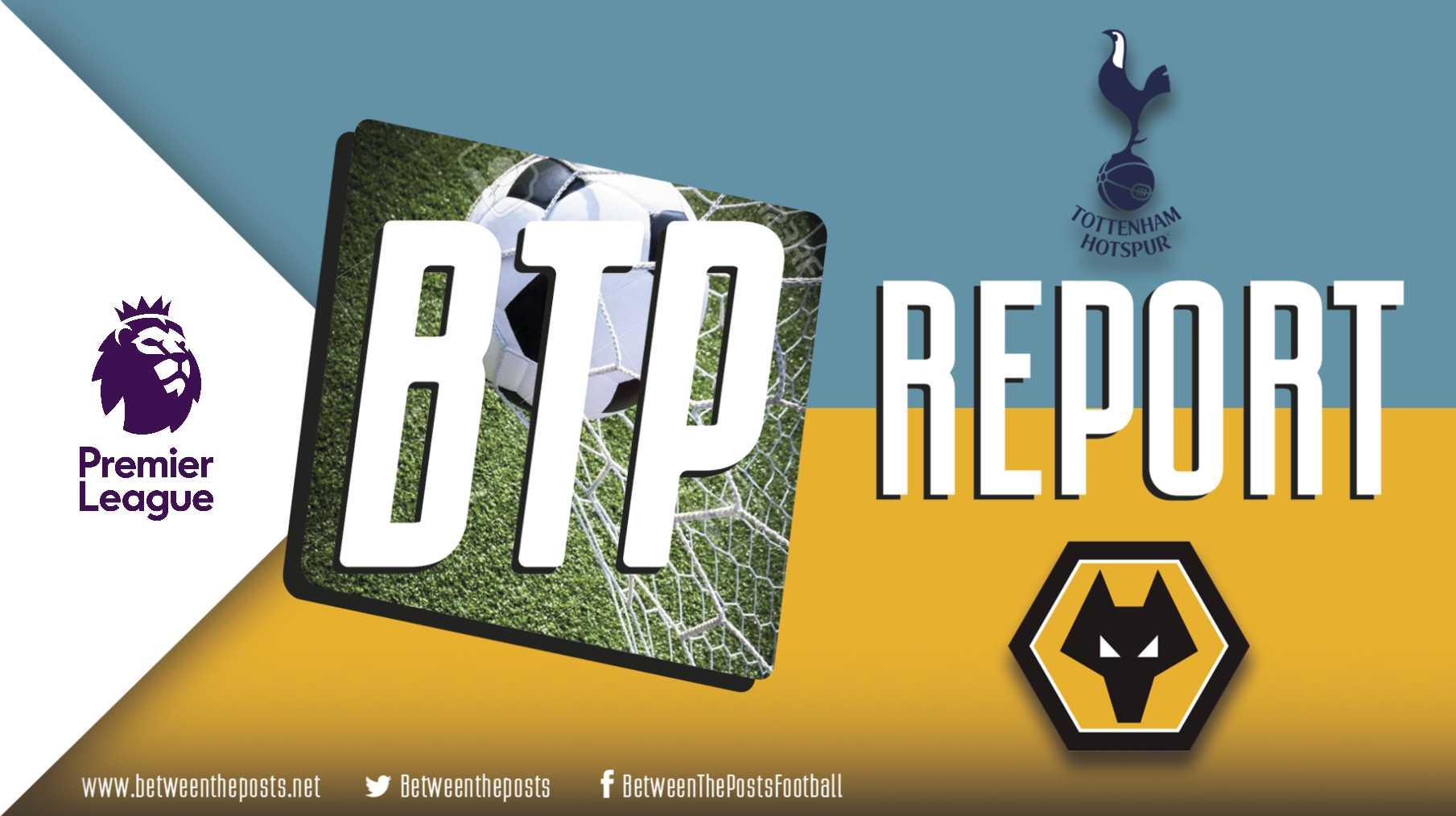 Tactical analysis Tottenham Hotspur Wolverhampton Wanderers 1-3 Premier League