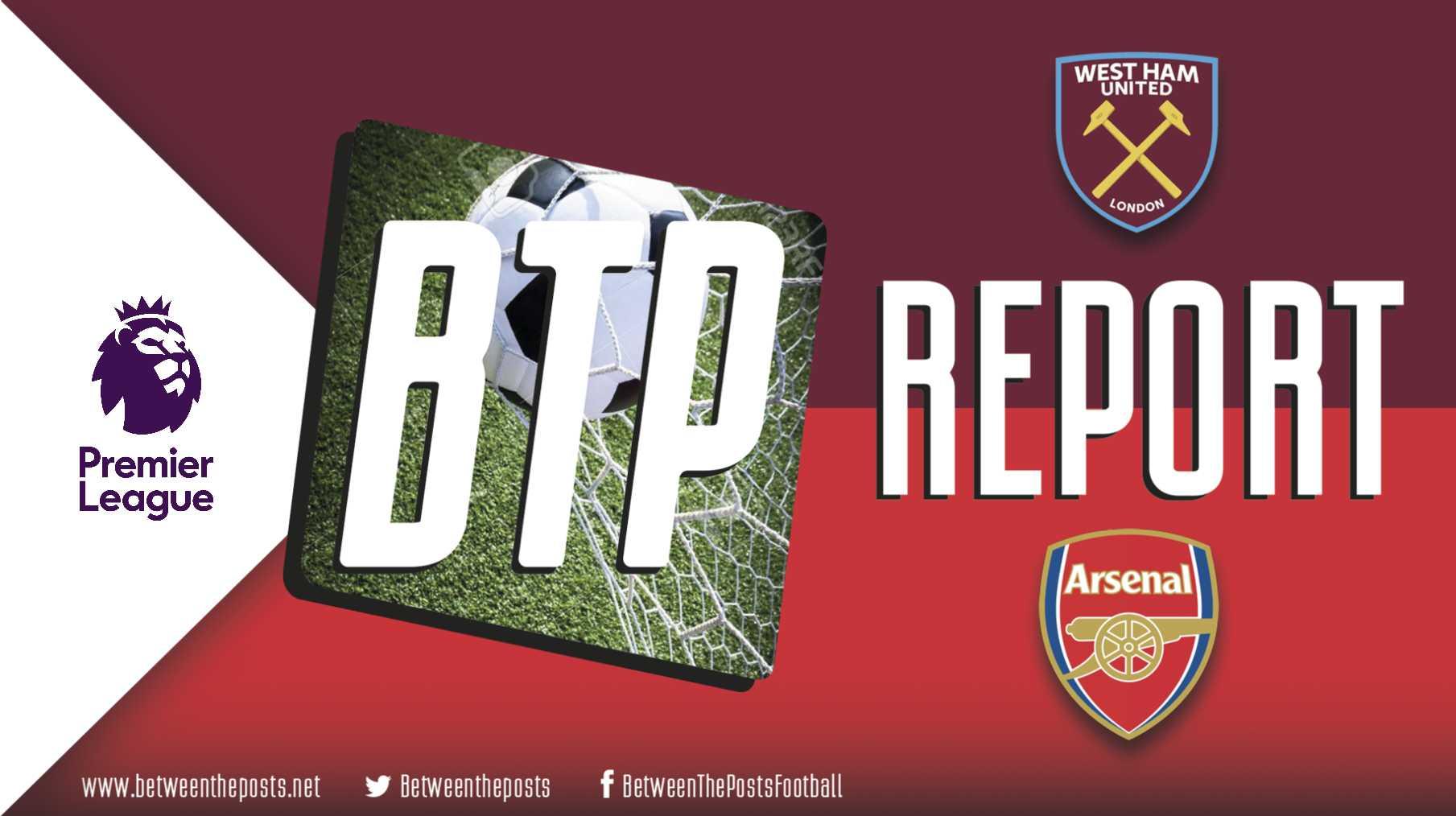 West Ham United - Arsenal 1-0 Premier League tactical analysis