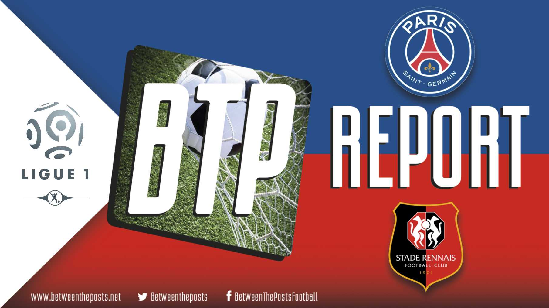 Tactical analysis PSG - Rennes Ligue 1