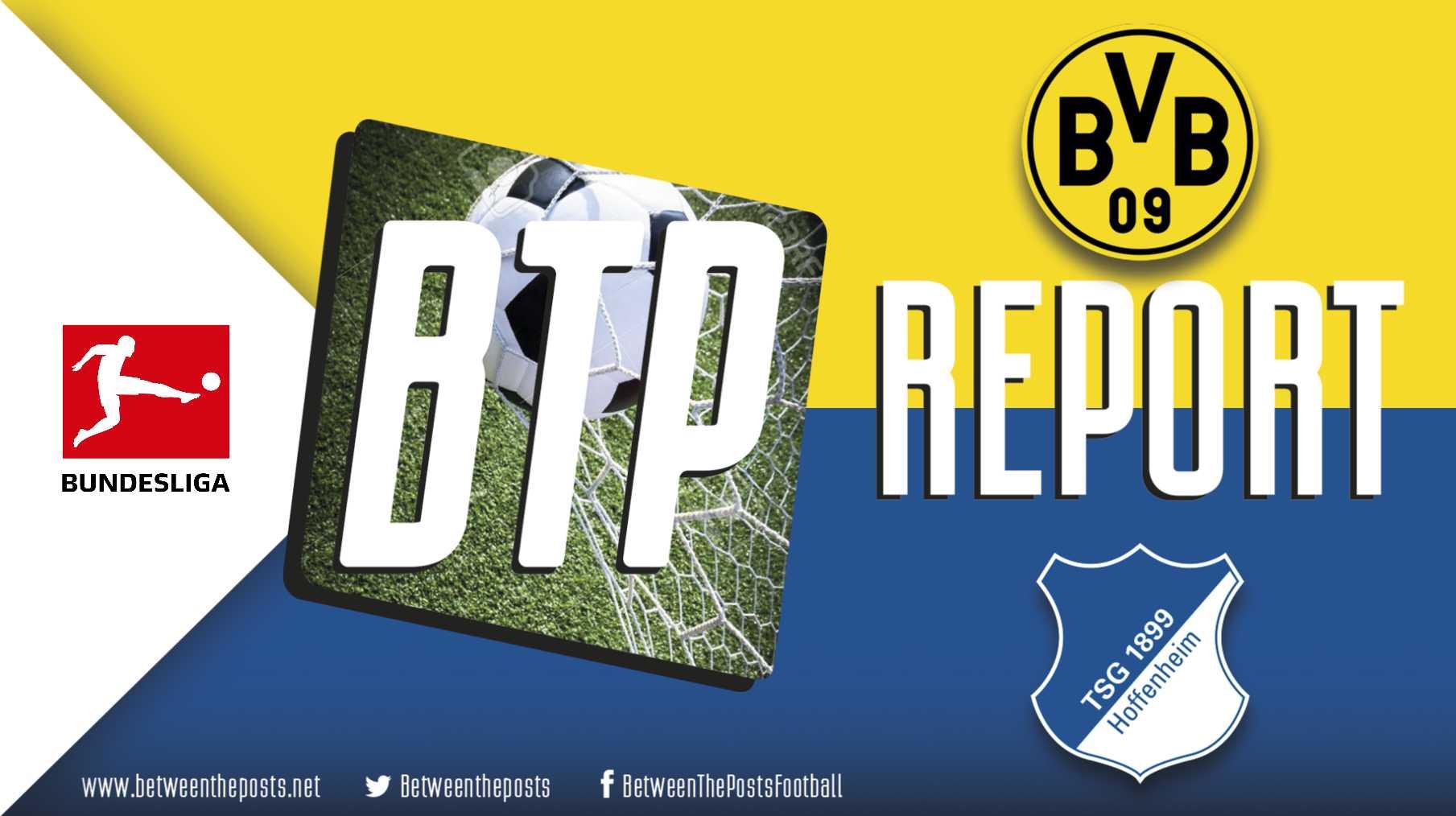 Tactical analysis Borussia Dortmund - TSG Hoffenheim 3-3 Bundesliga