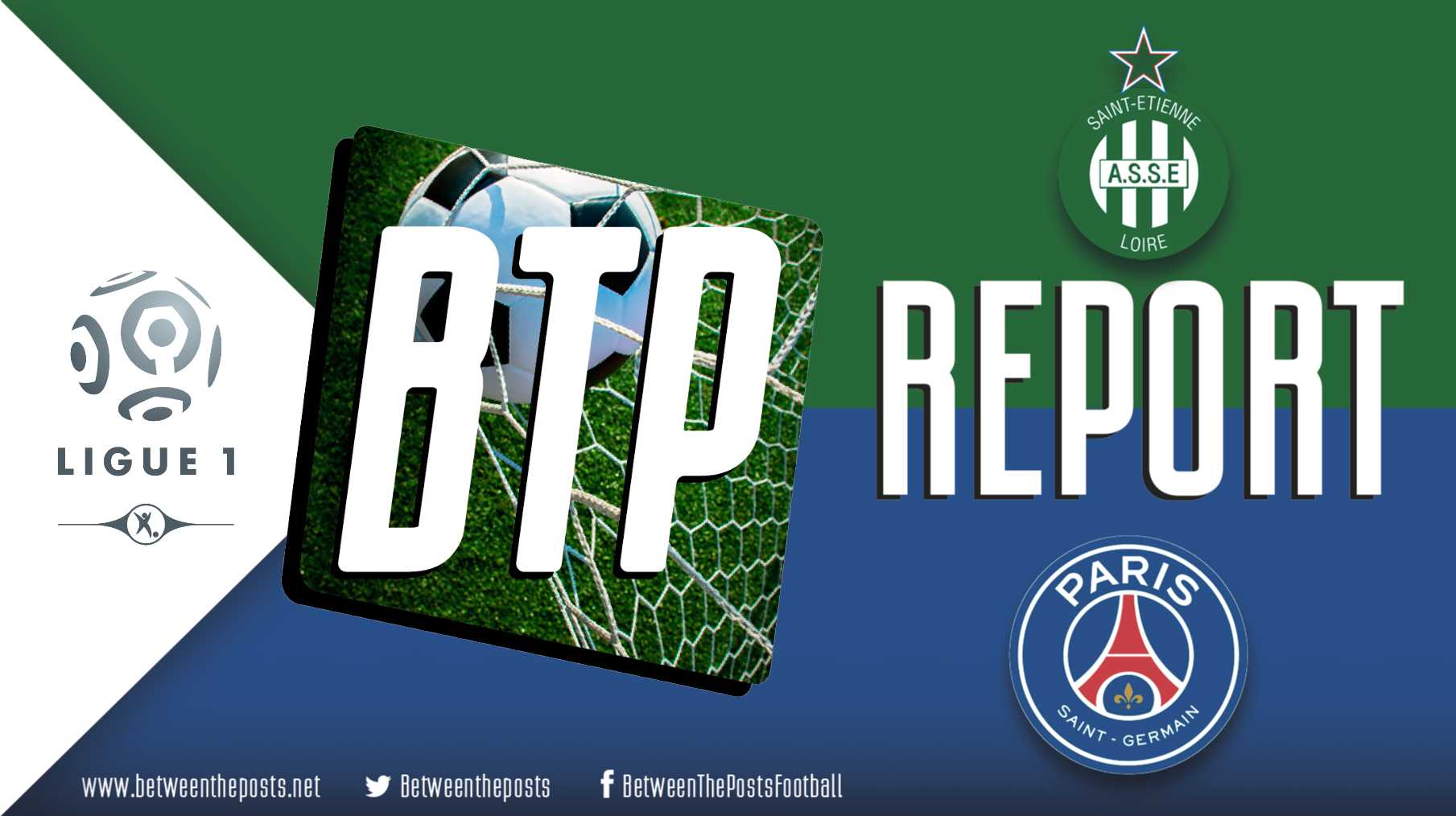 Tactical analysis Saint-Etienne - PSG Ligue 1 0-1