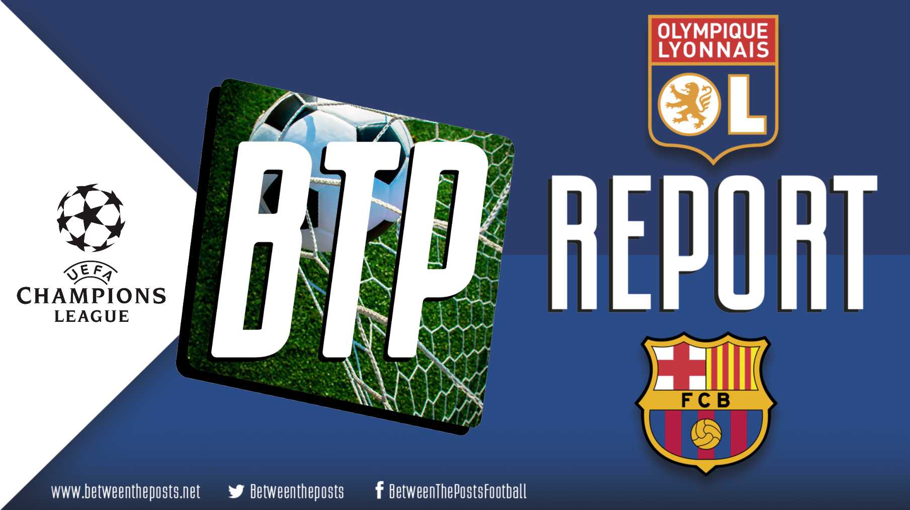Tactical analysis Olympique Lyonnais - Barcelona 0-0 Champions League
