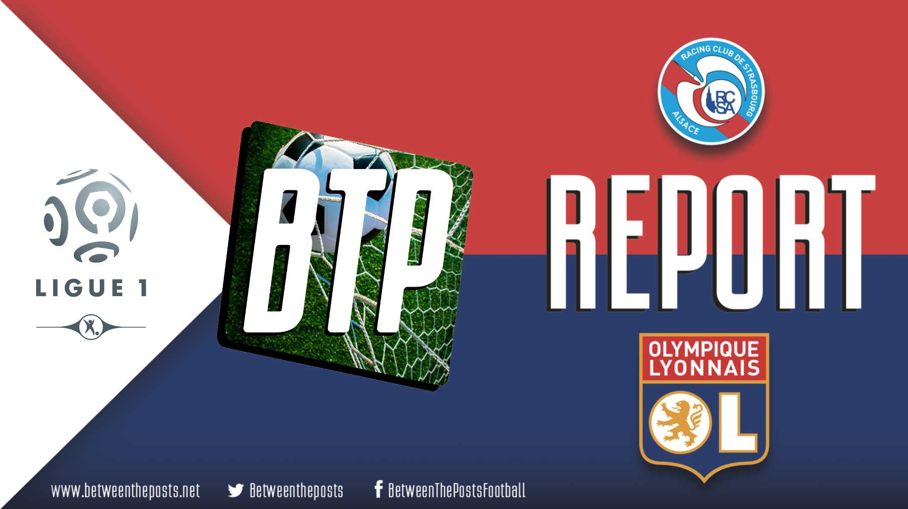 Tactical analysis Strasbourg- Olympique Lyonnais 2-2 Ligue 1