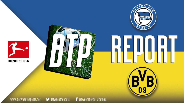 Hertha BSC – Borussia Dortmund: Favre's Tactical Switches Key As Dortmund Overcome Hertha With Late Drama (2-3)