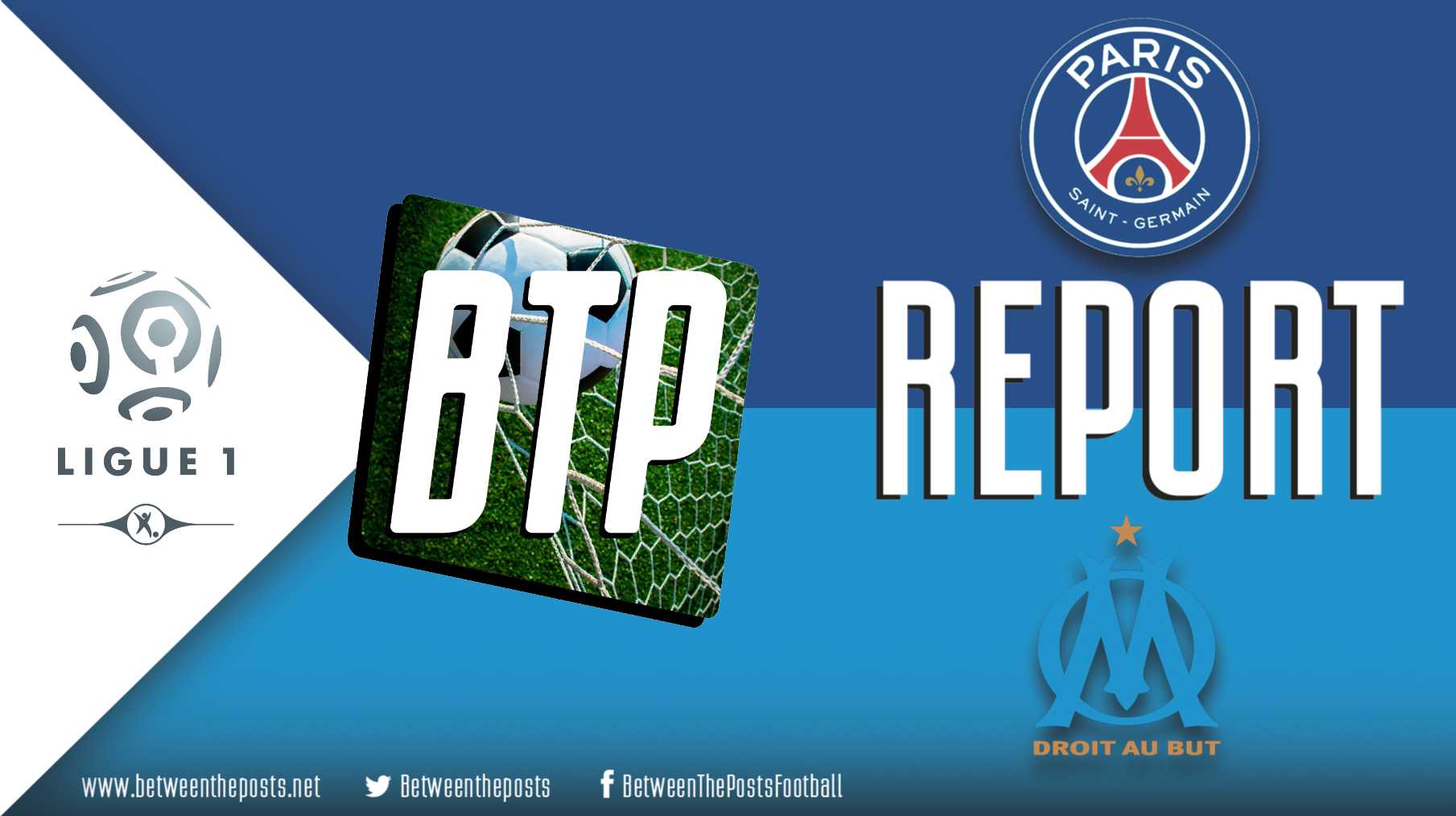 Tactical analysis Paris Saint-Germain Olympique Marseille 3-1 Ligue 1