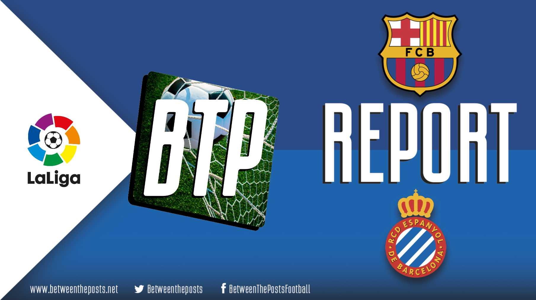 Tactical analysis Barcelona - Espanyol 2-0 LaLiga