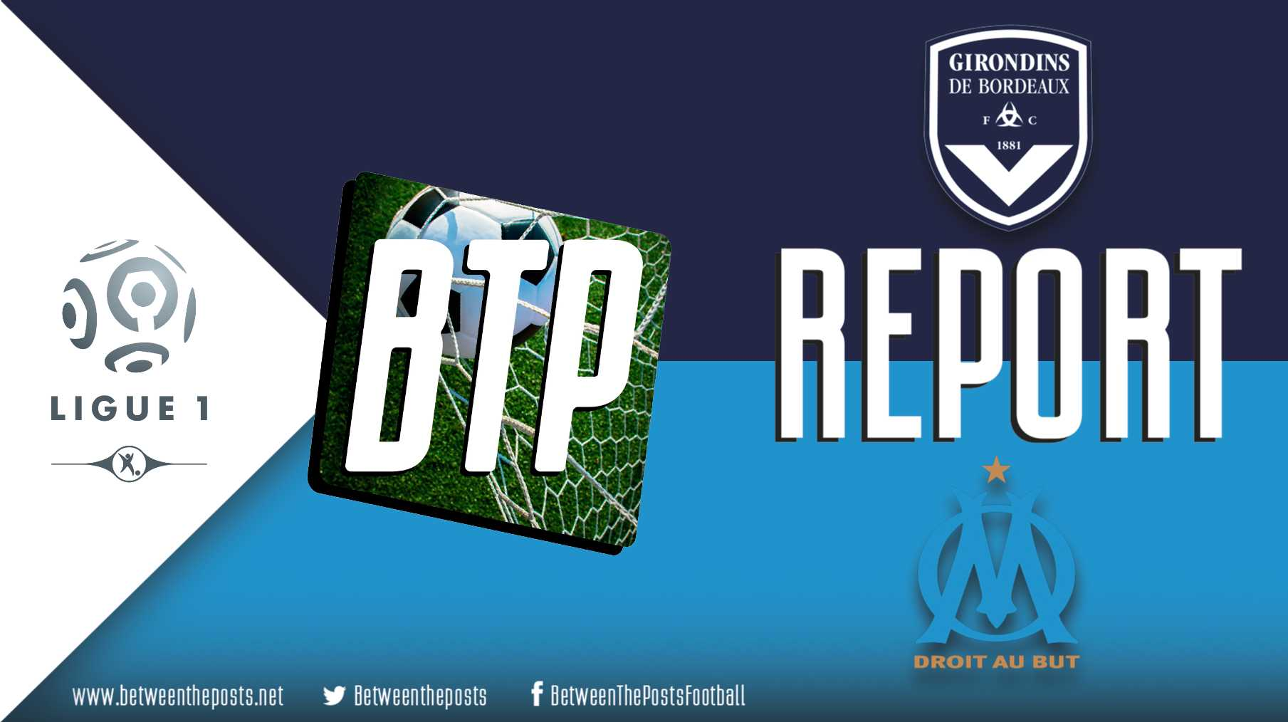 Tactical analysis Girondins Bordeaux Olympique Marseille 2-0 Ligue 1