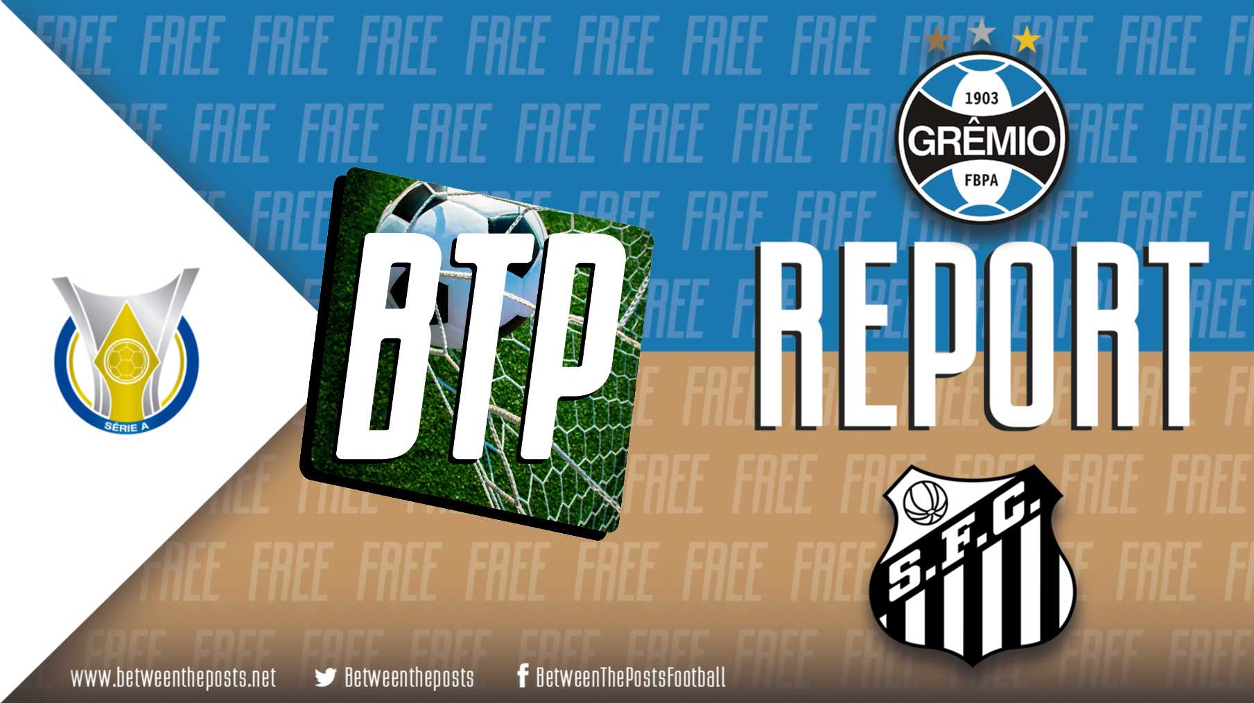 Tactical analysis Gremio Santos 1-2 Brasileiro