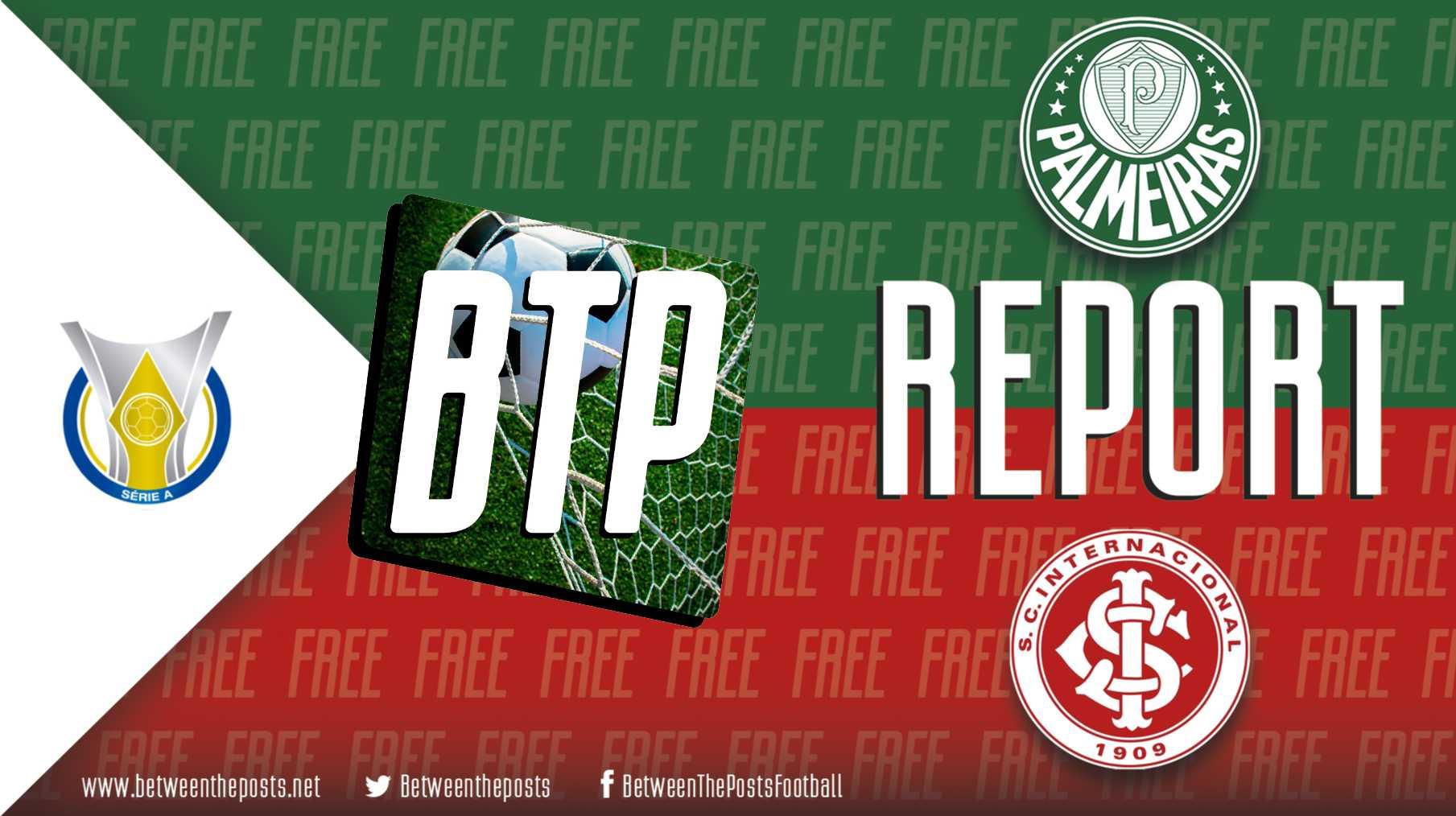 Tactical analysis Palmeiras Internacional 1-0 Brasileiro