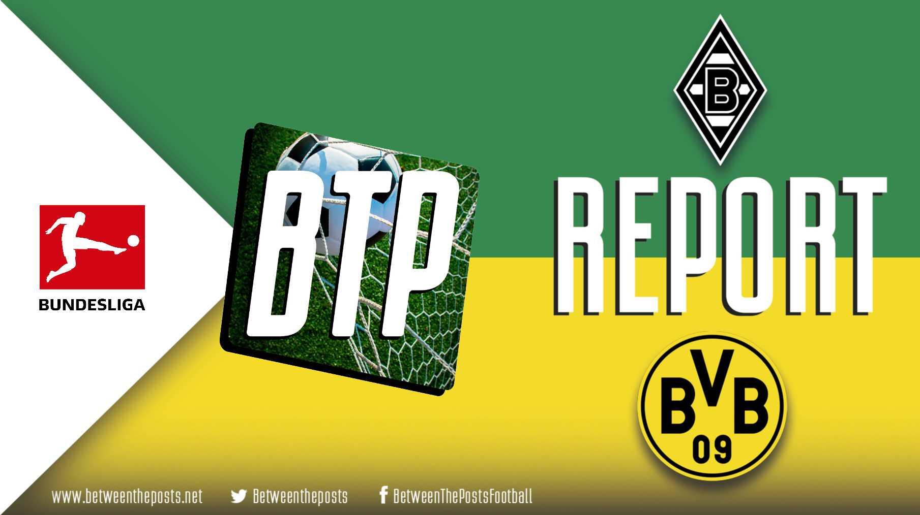 Tactical analysis Borussia Mönchengladbach Borussia Dortmund 0-2 Bundesliga