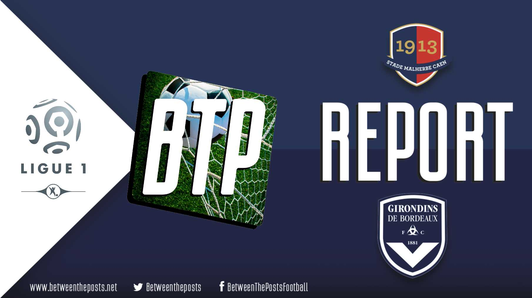 Tactical analysis SM Caen Girondins de Bordeaux 0-1 Ligue 1