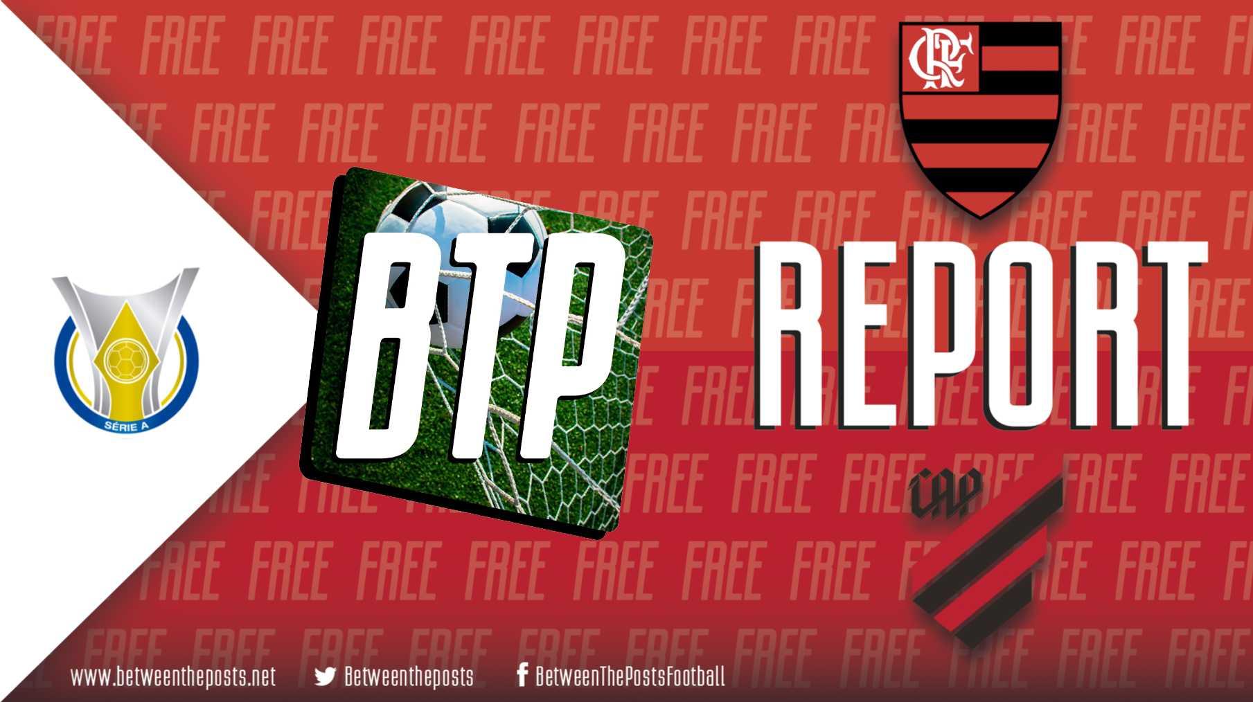 Tactical analysis Flamengo Athletico Paranaense Brasileiro 3-2