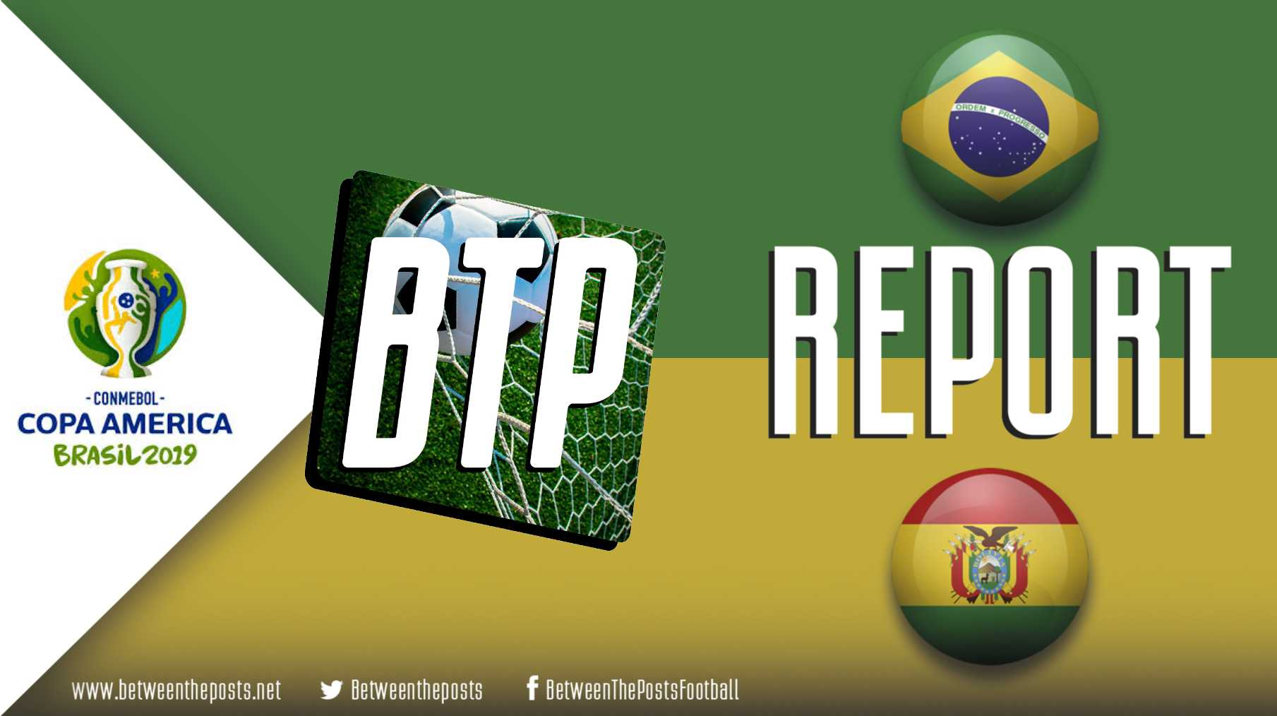Tactical analysis Brazil Bolivia 3-0 Copa America