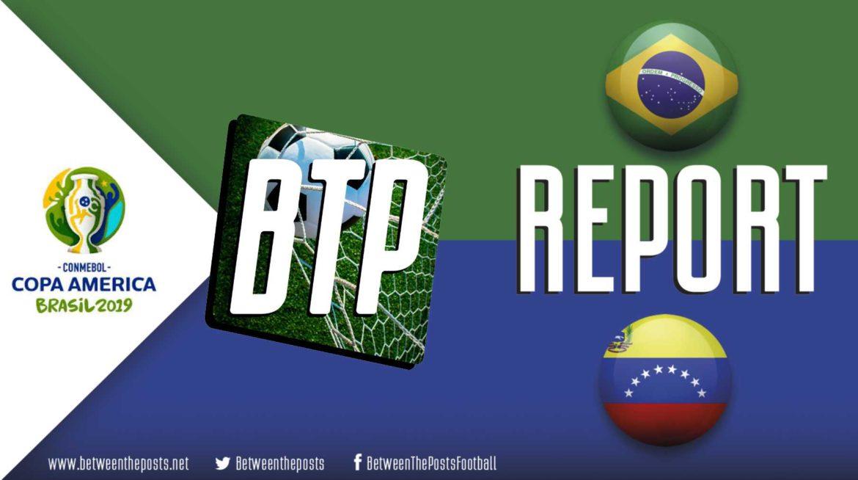Brazil – Venezuela: Brazil Unable To Break Through Against Determined Venezuela (0-0)