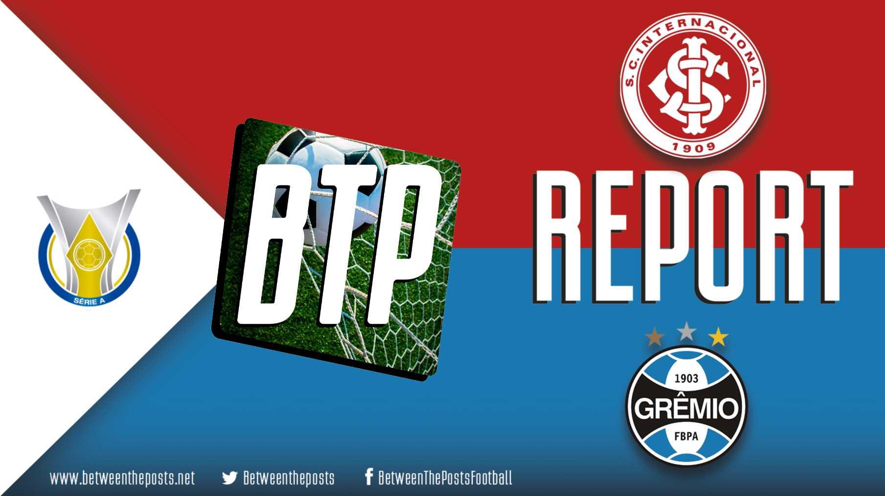 Tactical analysis Internacional Gremio 1-1 Brasileiro