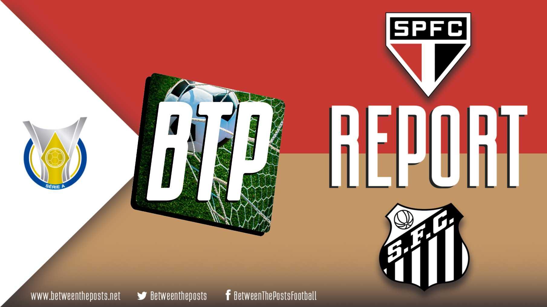 Tactical analysis Sao Paulo Santos 3-2 Brasileiro