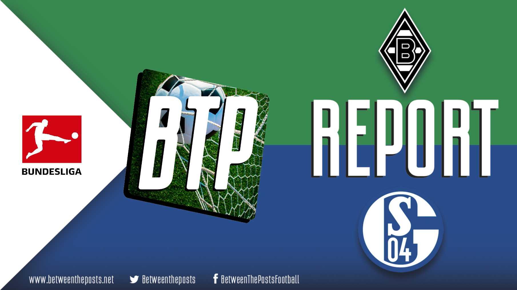Tactical analysis Borussia Monchengladbach Schalke 04 Bundesliga