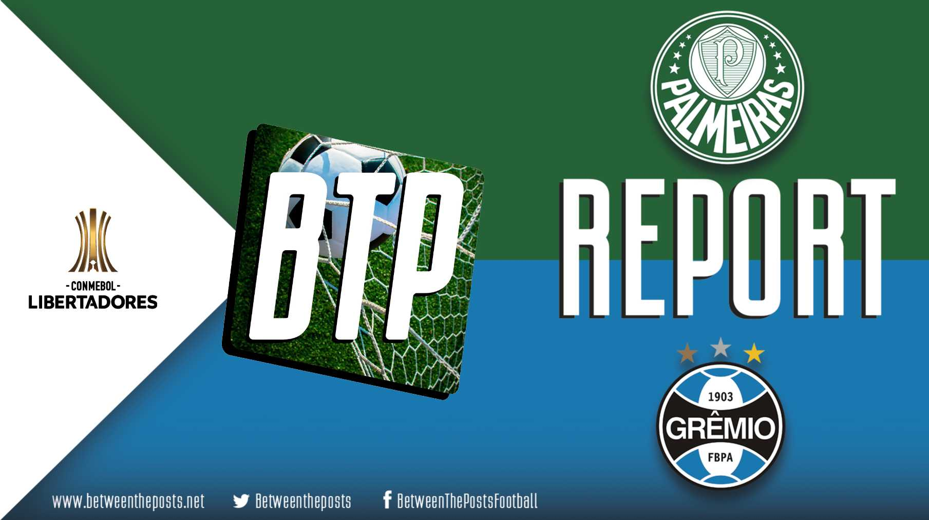 Tactical analysis and match report Palmeiras Gremio 1-2 Copa Libertadores