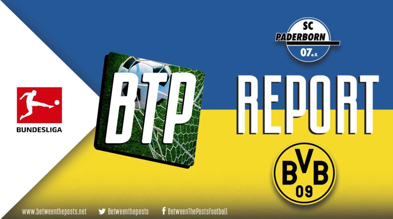 SC Paderborn – Borussia Dortmund: Dortmund Overrun A Well Prepared Defense With A Second Half Blitz (1-6)