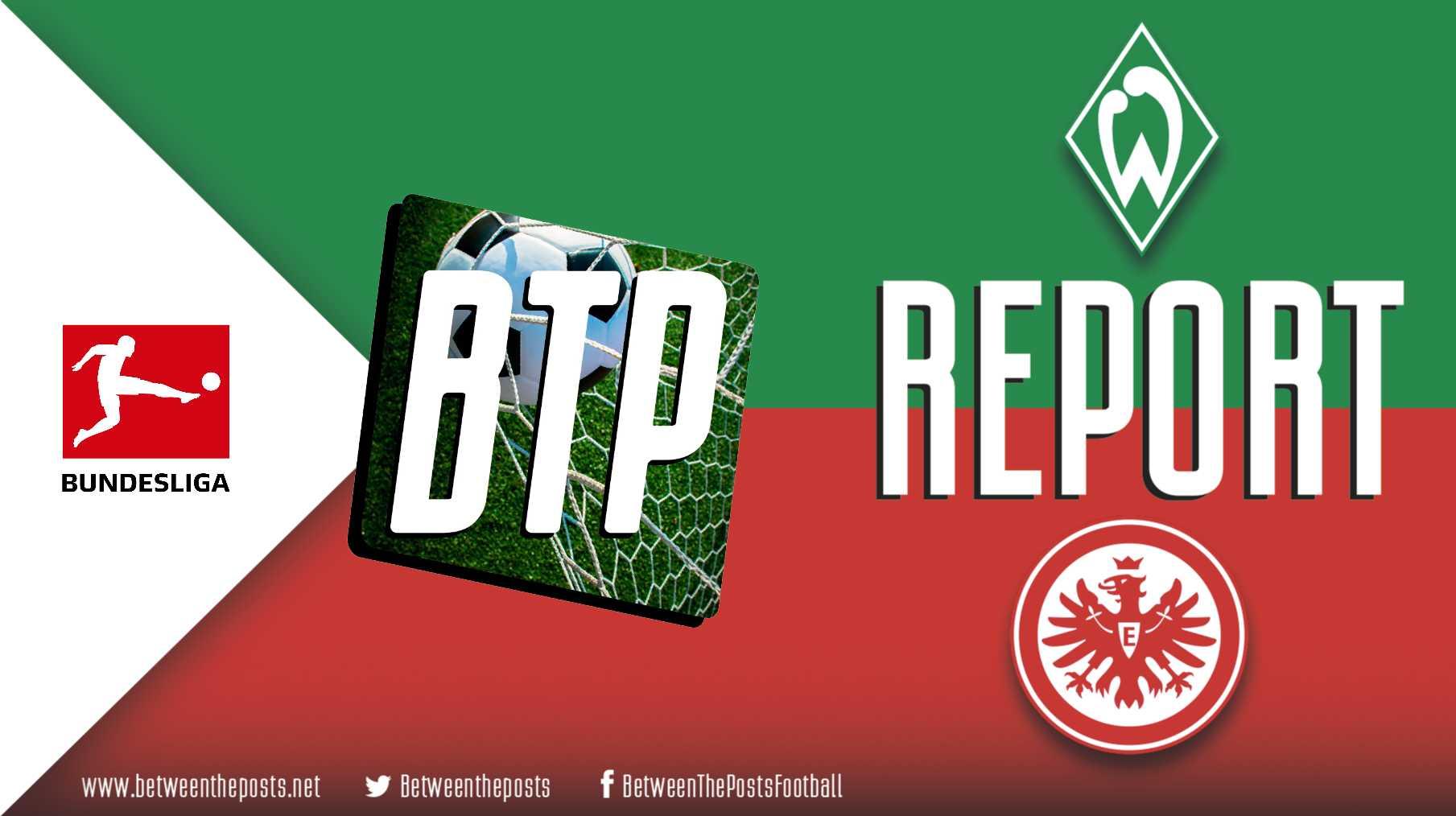 Tactical analysis Werder Bremen Eintracht Frankfurt 0-3 Bundesliga
