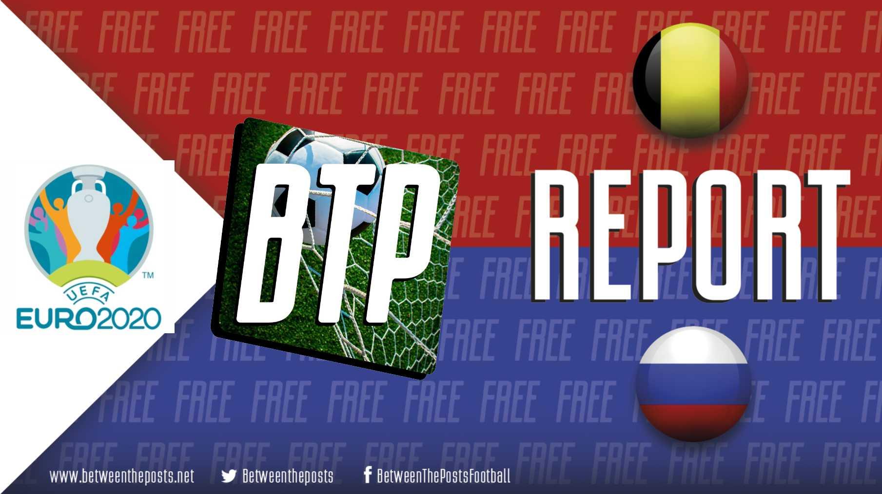 Belgium Russia 3-0 Euro 2020