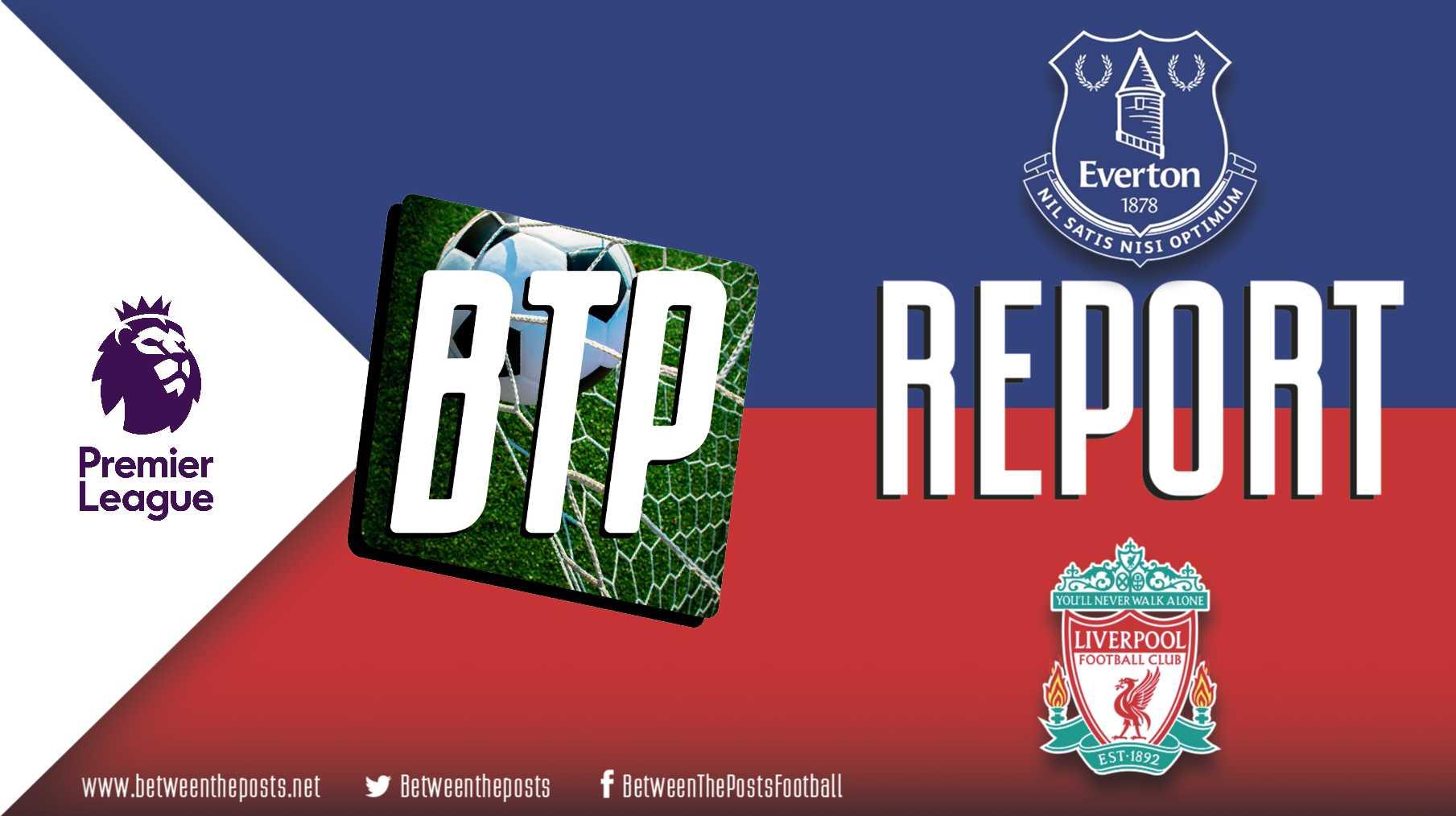 Tactical analysis Everton Liverpool 0-0 Premier League