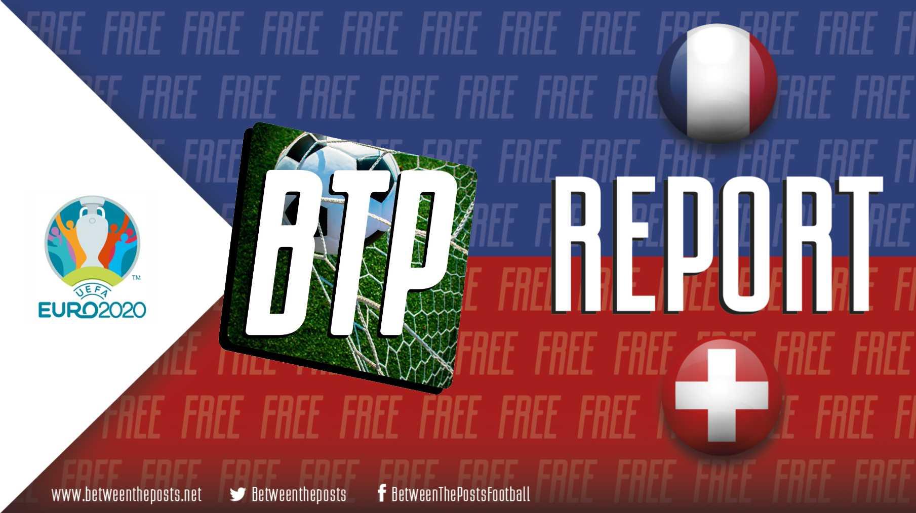 France Switzerland EURO 2020 3-3
