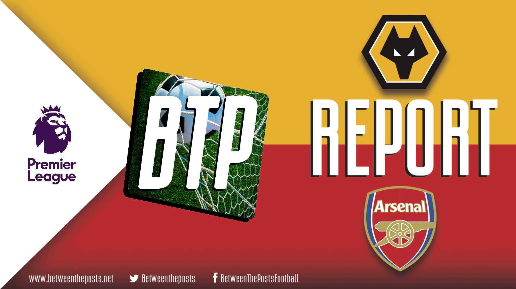 Tactical analysis Wolverhampton Wanderers Arsenal 0-2 Premier League