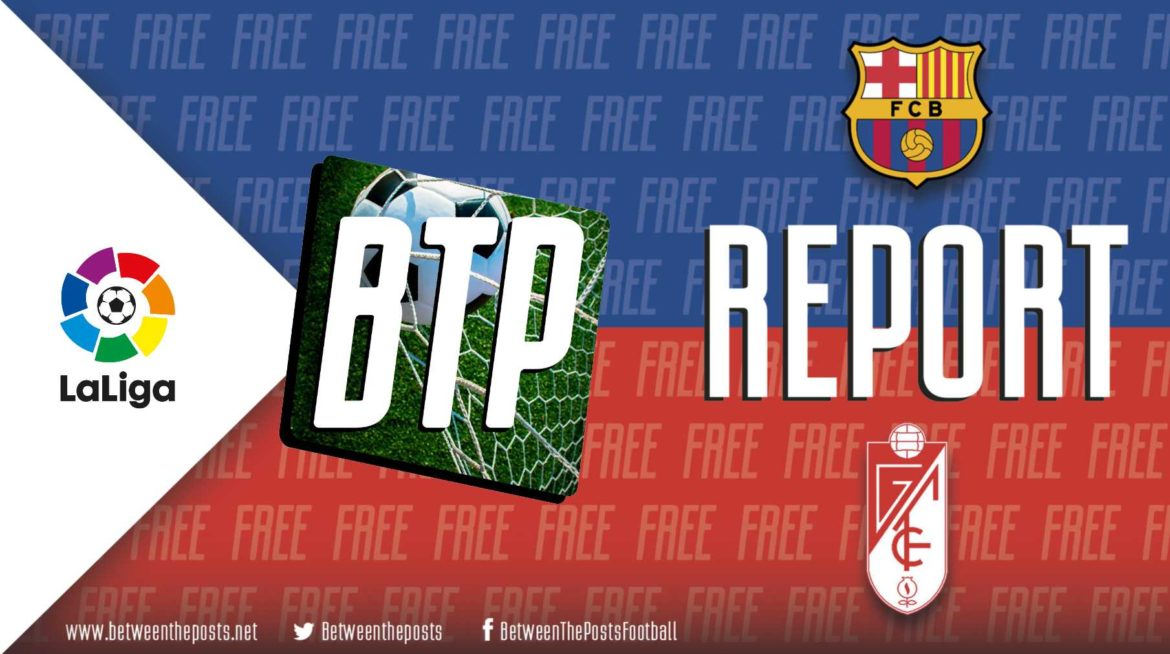 Barcelona – Granada: Quique Setién's tyrannical ball control eventually pays dividends in debut victory (1-0)