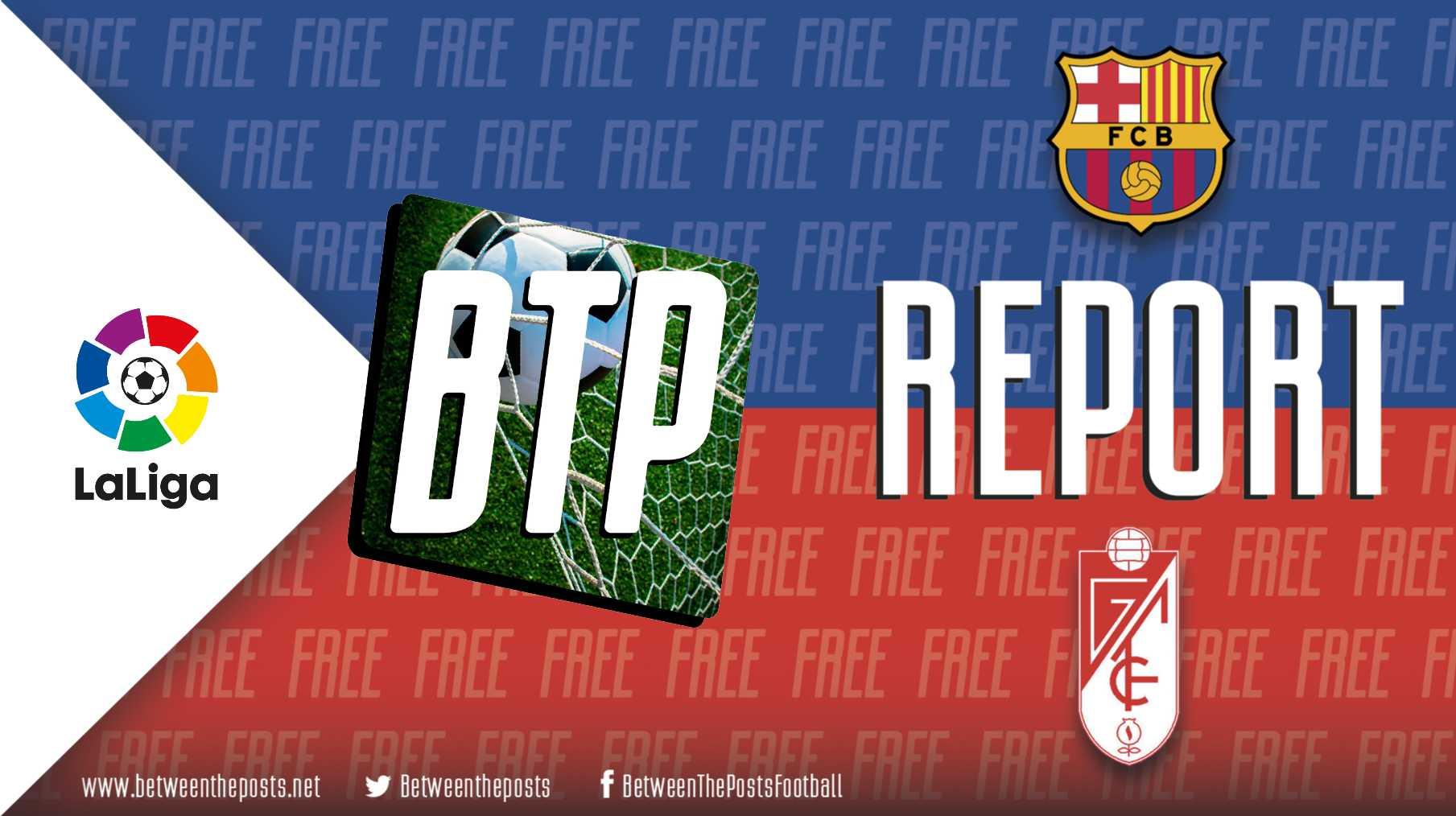 Tactical analysis Barcelona Granada 1-0 LaLiga