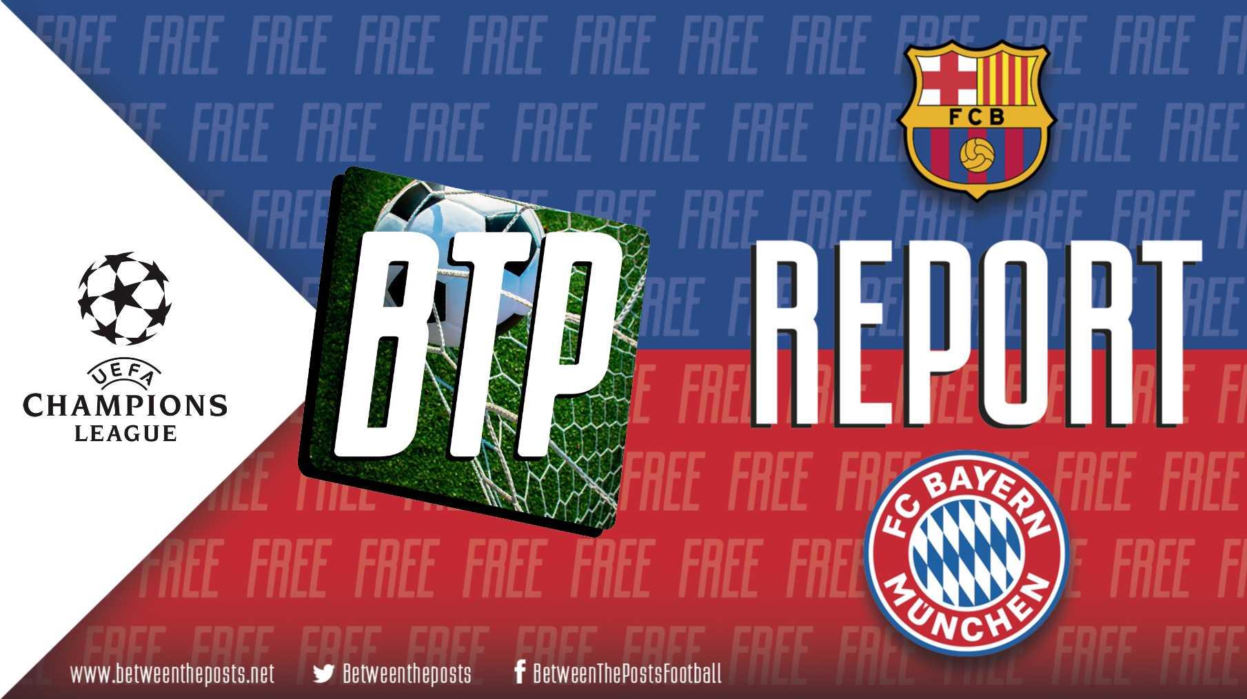 Bayern Barca 8-2 tactics