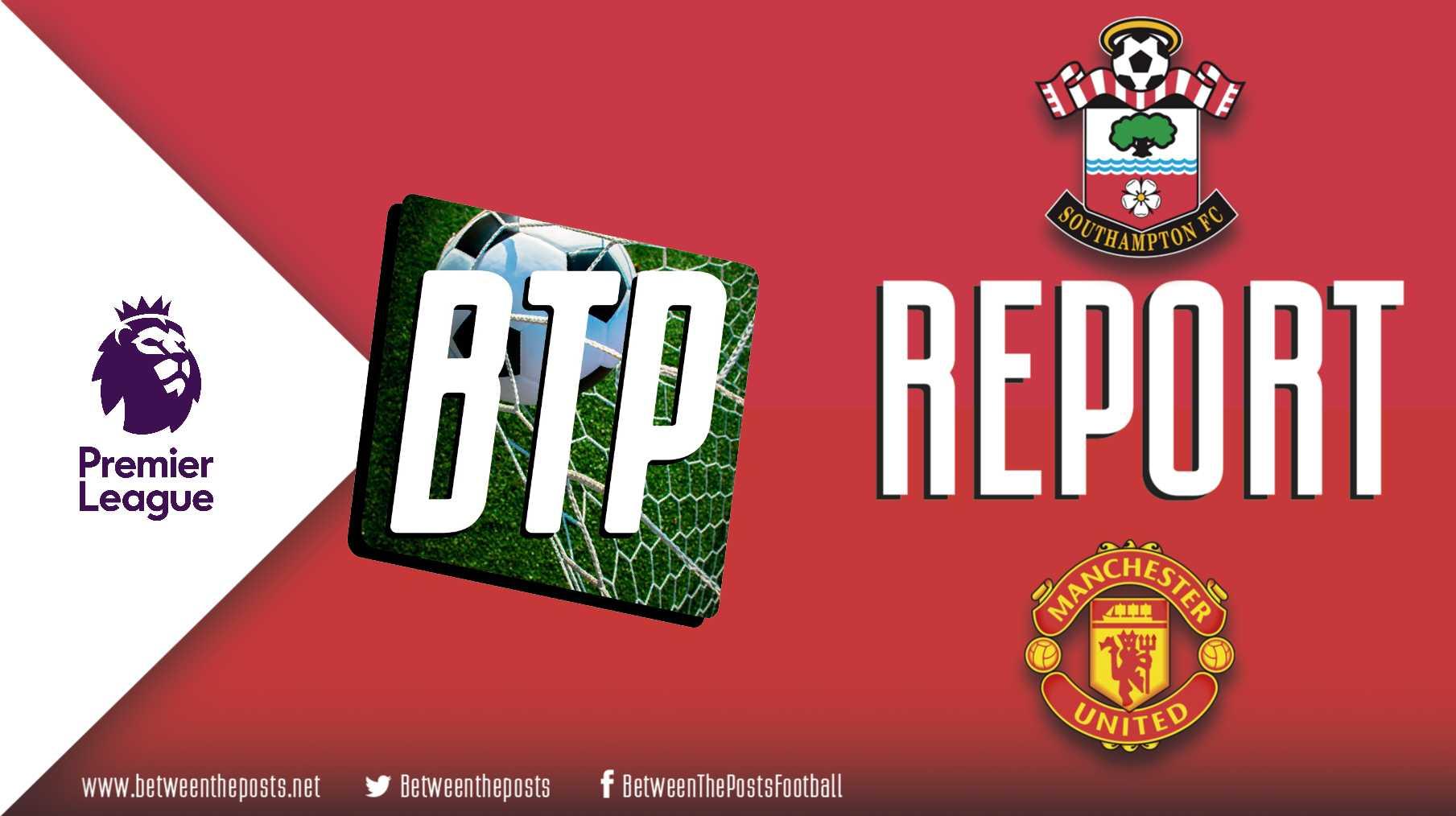 Southampton Manchester United 1-1 Premier League