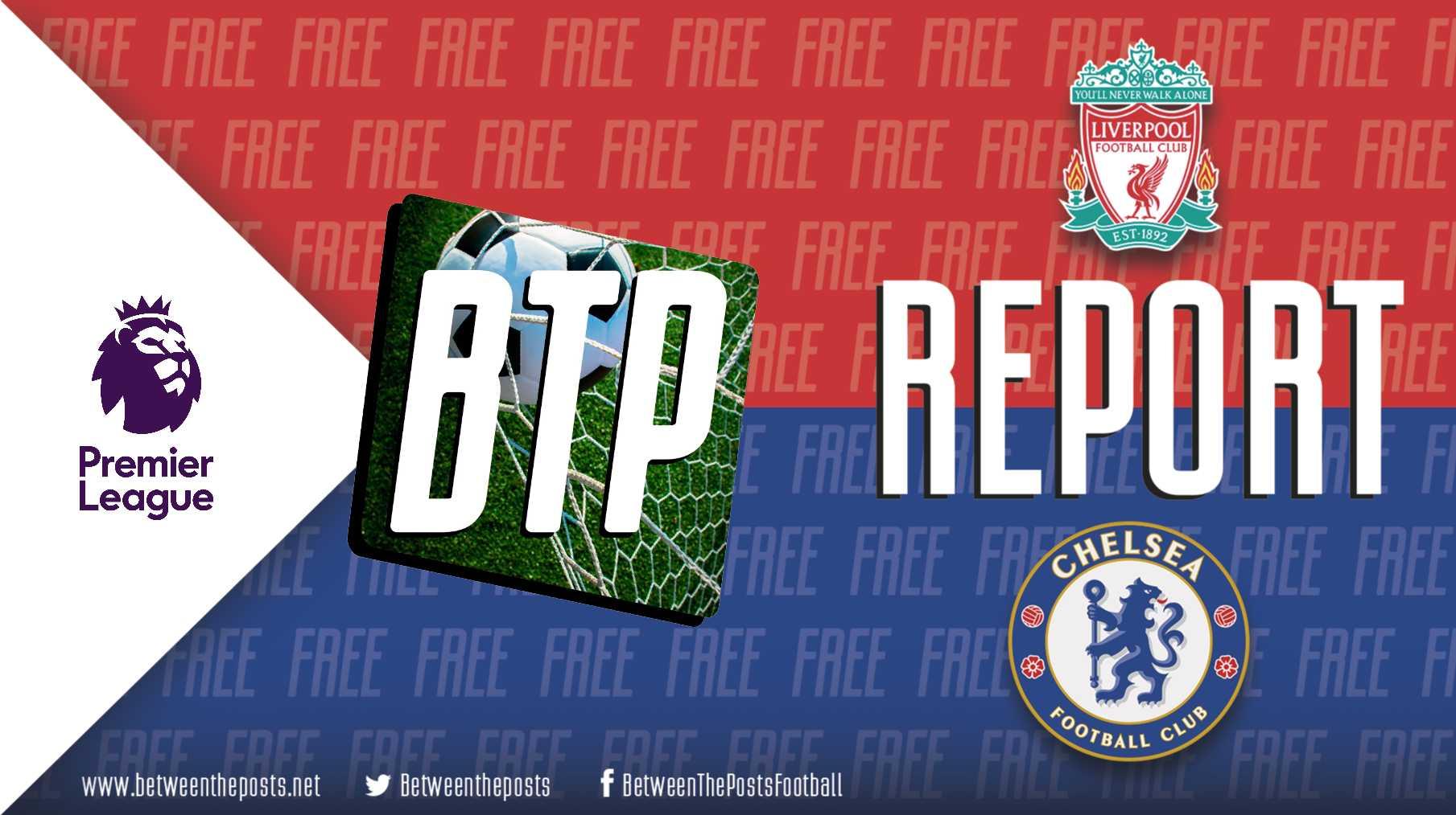 Tactical analysis Liverpool Chelsea 1-1 Premier League
