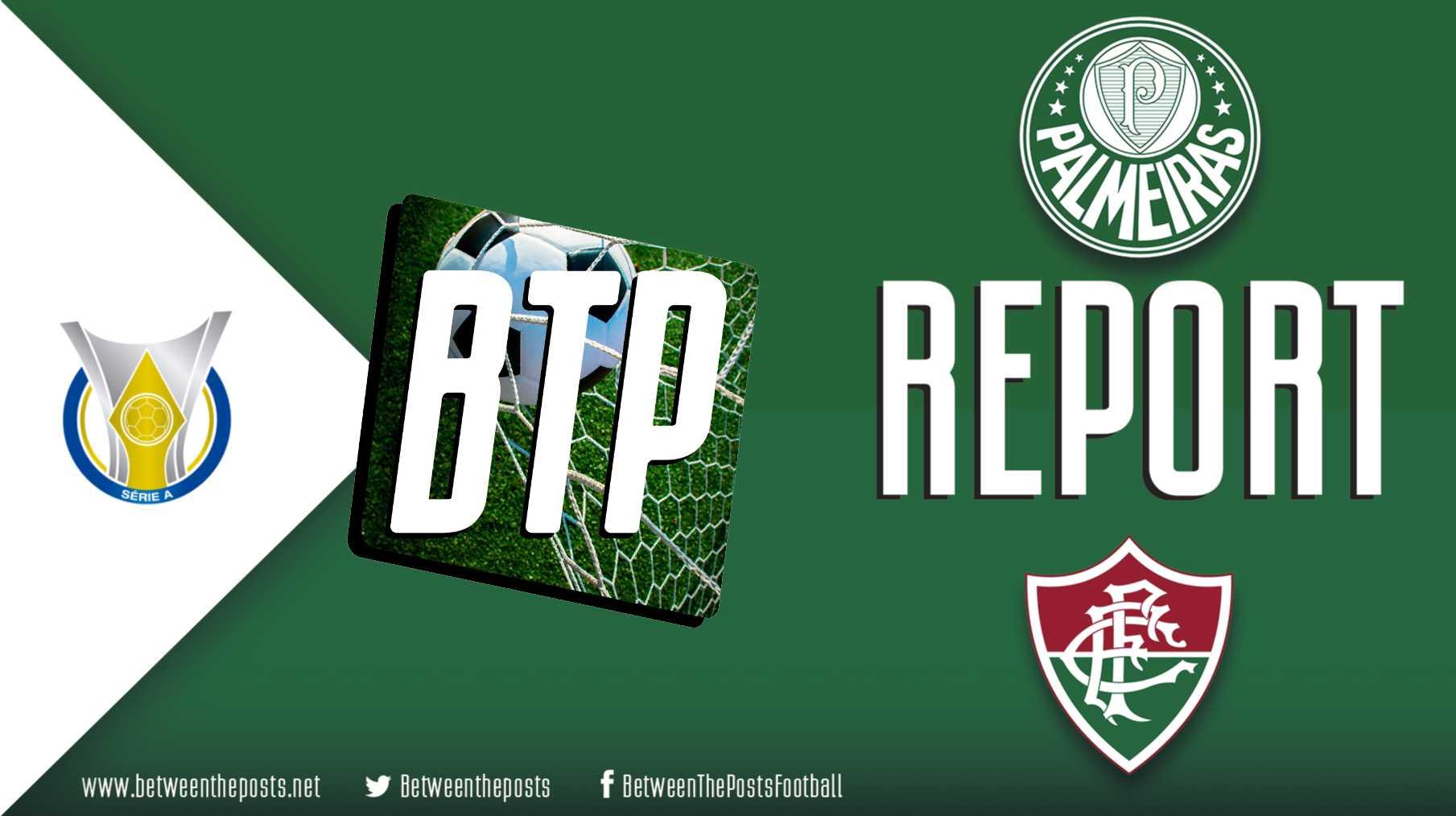 Tactical analysis Palmeiras Fluminense 3-0 Brasileiro