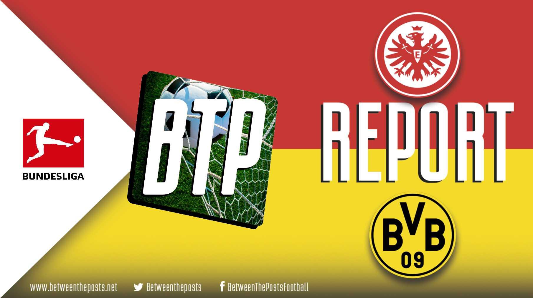 Tactical analysis Eintracht Frankfurt Borussia Dortmund 2-2 Bundesliga