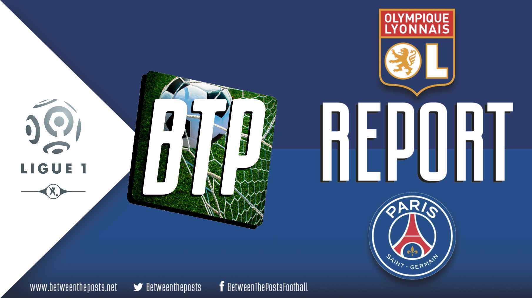 Tactical analysis Olympique Lyonnais Paris Saint-Germain 0-1 Ligue 1