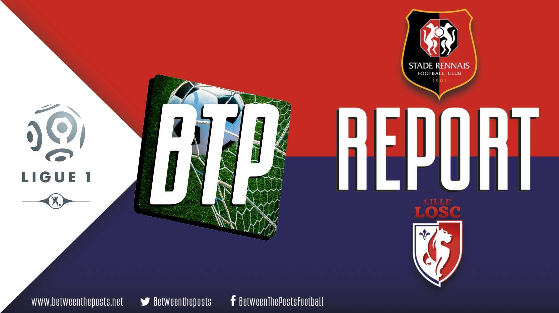 Tactical analysis Stade Rennais Lille OSC 1-1 Ligue 1
