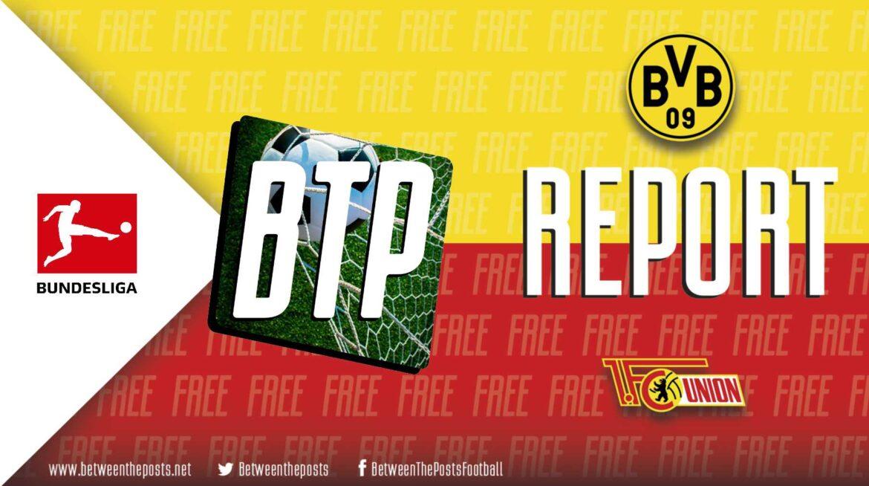 Borussia Dortmund – Union Berlin: Change In Shape Sees Dortmund Take A Comfortable Win (4-2)