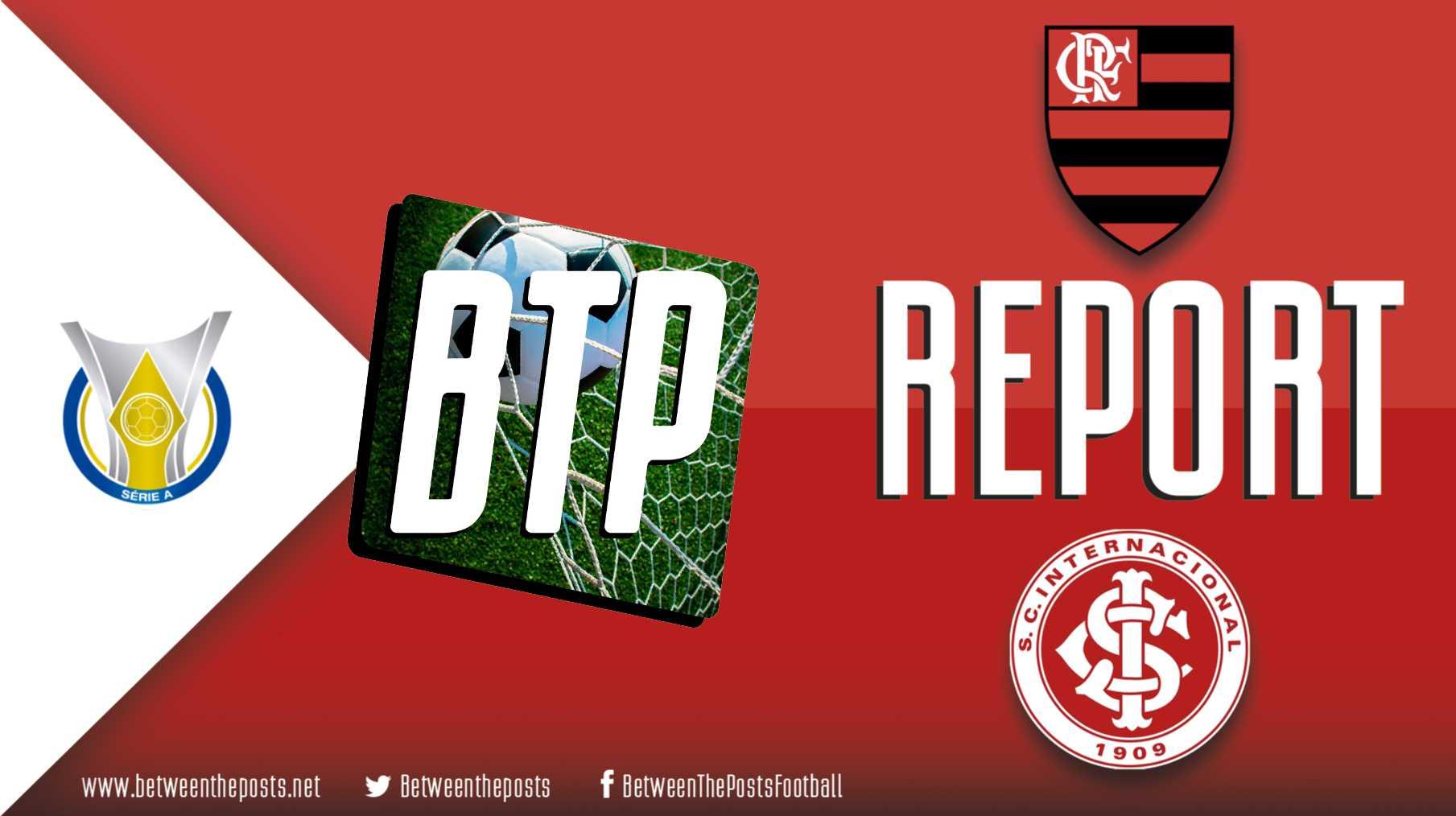 Tactical analysis Flamengo Internacional 3-1 Brasileiro