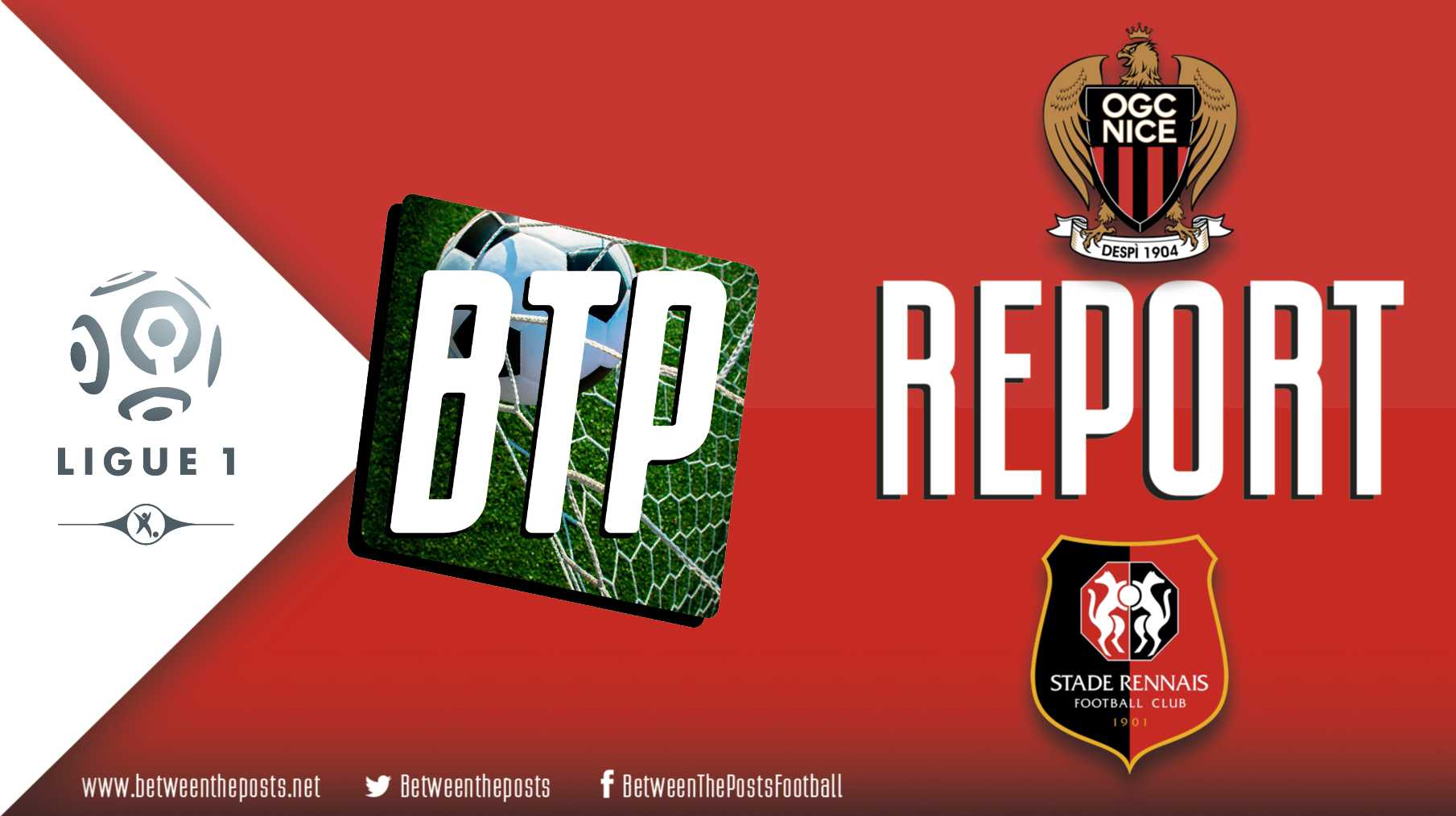 Tactical analysis OGC Nice Stade Rennais 1-1 Ligue 1