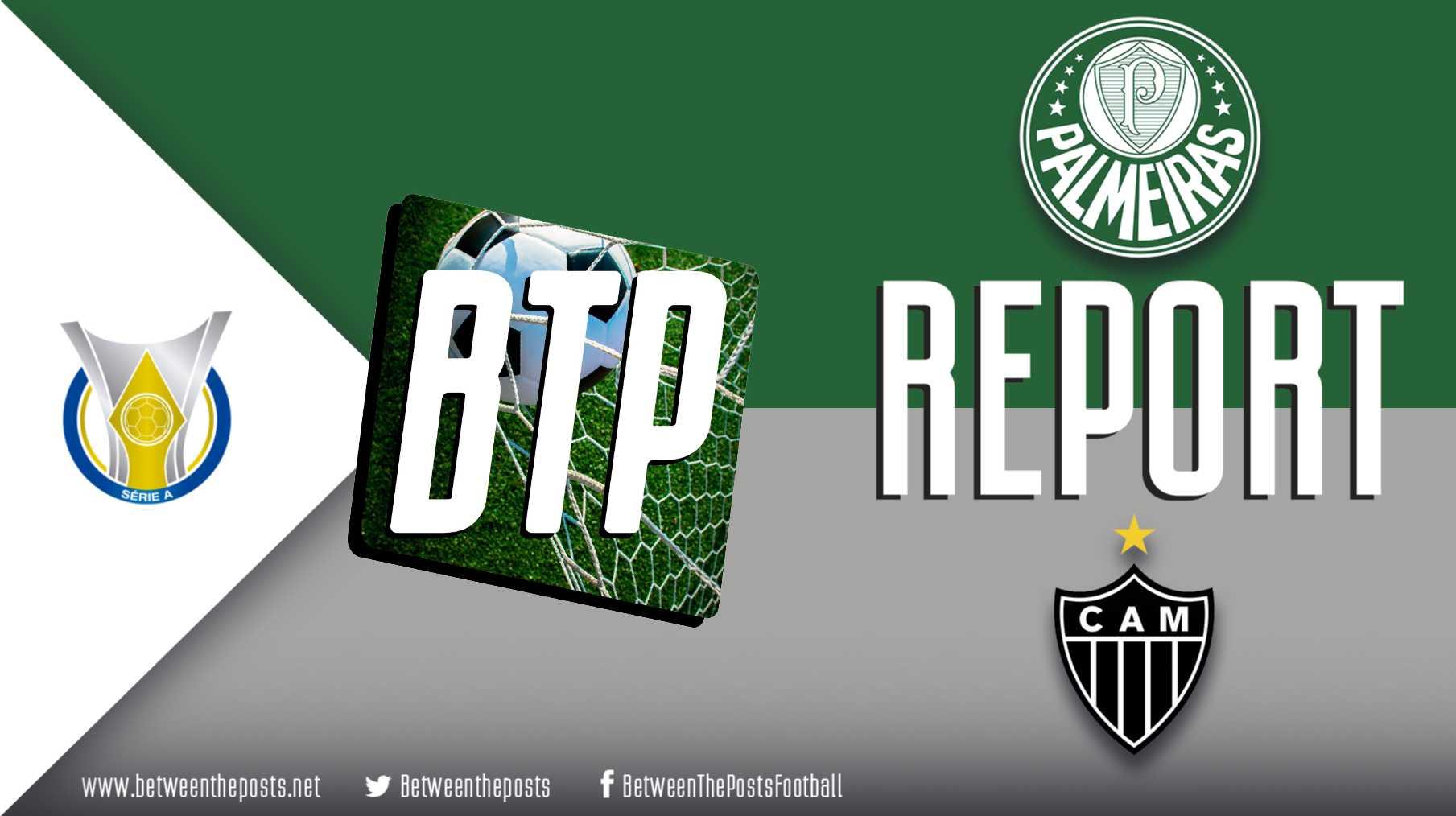 Tactical analysis Palmeiras Atlético Mineiro Brasileiro 1-1
